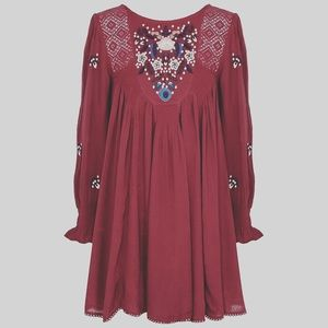 Free People/ Mohave Dress/ Oversized E2